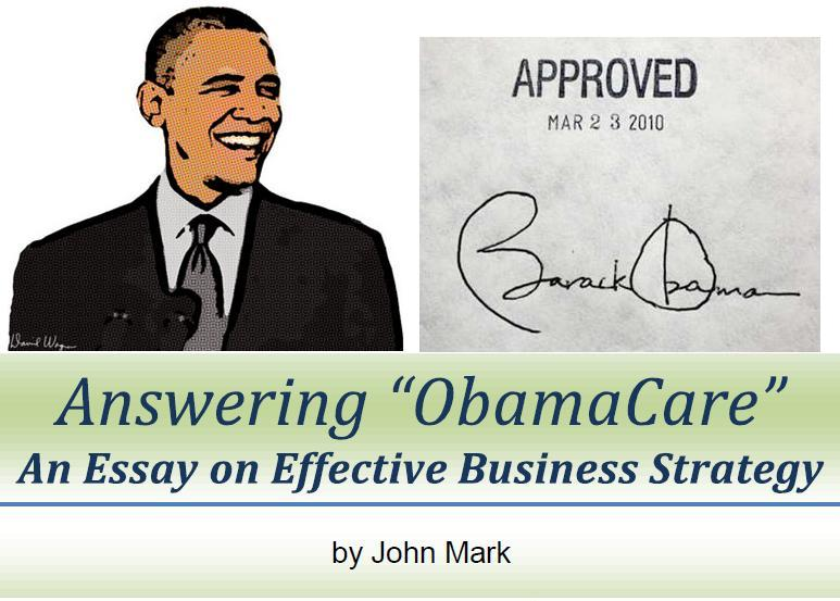 """short essay on obamacare Formally known as the patient protection and affordable care act (ppaca), """"obamacare"""" has many functions that are unknown to the public and because of this ignorance many people do not approve of it."""